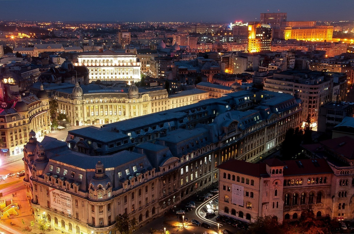 Bucharest, University, Romania