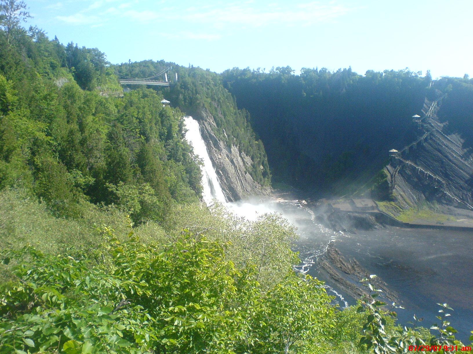 Quebec City, Montmorency Falls